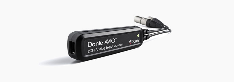 Dante AVIO Adaptors