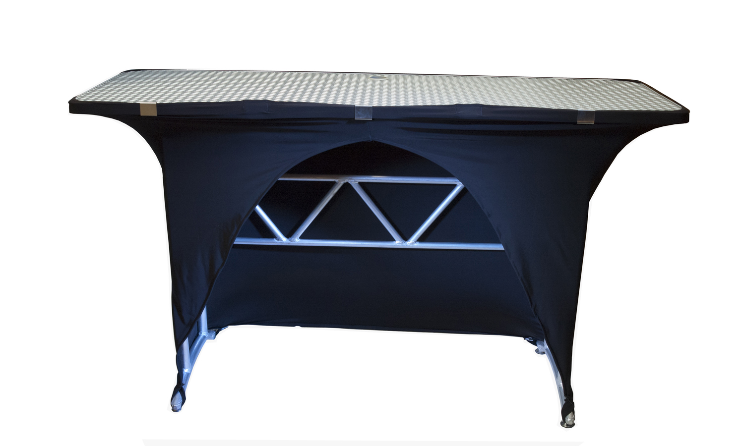 skirt for dj truss table interstate audio. Black Bedroom Furniture Sets. Home Design Ideas
